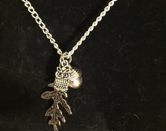 Woodland forrest necklace