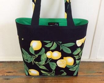 Fresh Lemons tote