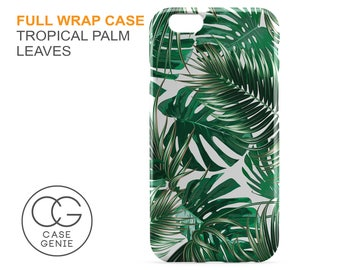 Tropical Palm Leaves Case for iPhone X 8 PLUS 7 6 6s 5 5s 5c SE  Samsung Galaxy S8 S7 S6 Edge S5 Banana Leaf Jungle TL1