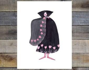 Liz Long Creature Comfort Print #6 8-10in Giclée Print
