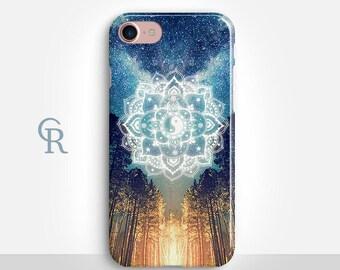 Mandala iPhone 7 Case For iPhone 8 iPhone 8 Plus - iPhone X - iPhone 7 Plus - iPhone 6 - iPhone 6S - iPhone SE - Samsung S8 - iPhone 5