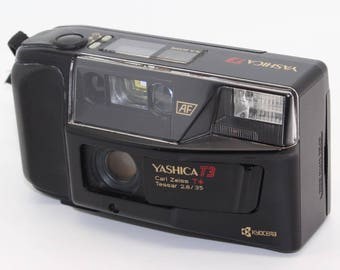 Yashica T3 35mm Point & Shoot with Carl Zeiss T* Lens – A real classic and rarely found in VGC - Perfect for Lomo/Street Photography