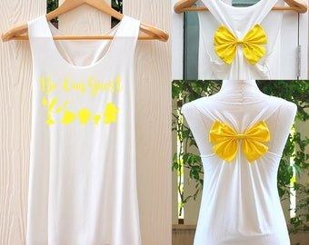 Belle princess disney shirt Be our guest bow Tank Top. Racerback bow. Disney shirt. Tank Top. Disney Tank Top. Bachelorette Party Tank Tops.