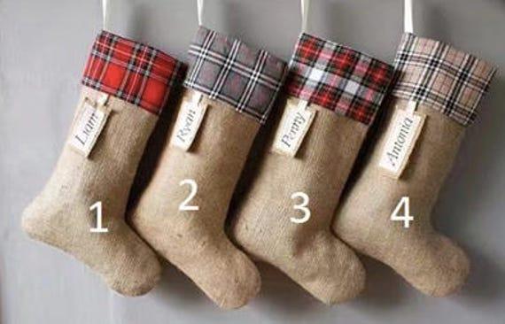 Personalized Christmas Stockings DIY Stockings too Family