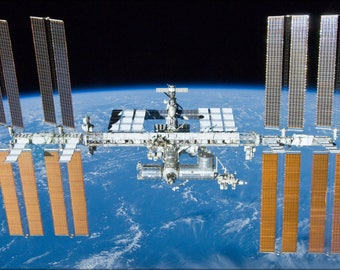Poster, Many Sizes Available; International Space Station After Undocking Of Sts 132