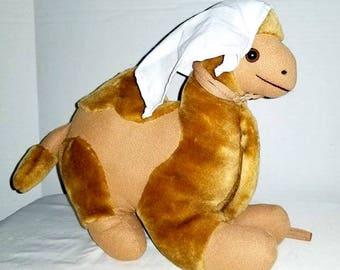Vintage Stuffed Camel,Nativity,Vintage Plushie,Vintage Toys,Vintage Stuffed Animal,Camel,Plush,Bethlehem