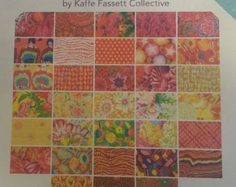 Quilt Fabric Kaffe Fassett Spring 2017 Sunshine  33 FQs
