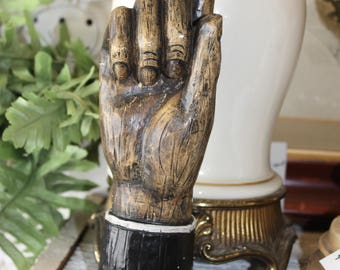 SOLD!!! OOAK Hand with Raised Finger