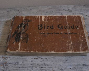 Bird Guide (Land Birds East of the Rockies) - Chester A. Reed (1916)