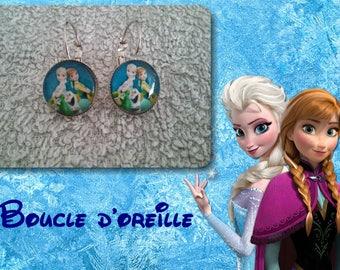 Beautiful snow Queen earring