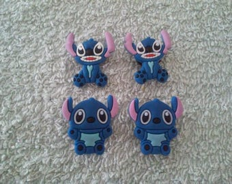 Lot 4 jibbitz Stitch (for fangs badges)