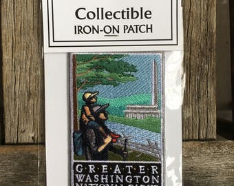 LAST ONE! Greater Washington National ParksMonument Souvenir Travel Patch