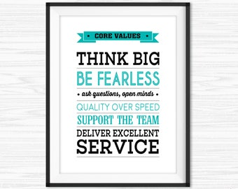 Teamwork Quotes For Office Wall Art Printable Success Quotes Motivational Wall Decor Inspirational Quote Cubicle Decor Customer Service