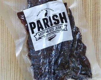 Blackened Seasoning Beef Jerky