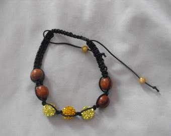 Shamballa yellow/orange
