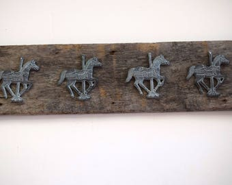 Barn Wood Horse Wall Decor