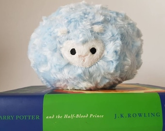Baby Blue Pygmy Puff Plush -- Made to Order
