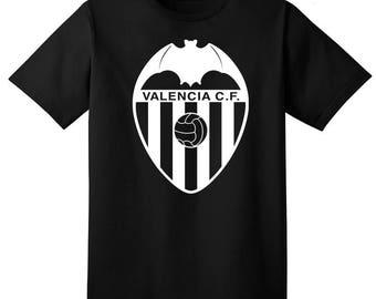 Valencia CF Espana T Shirt Camiseta Fanatico Futbol Soccer La Liga Los Murcielagos