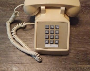 Push Button Telephone