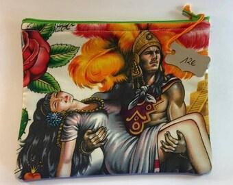 Printed Pochette Mexican Aztec legend