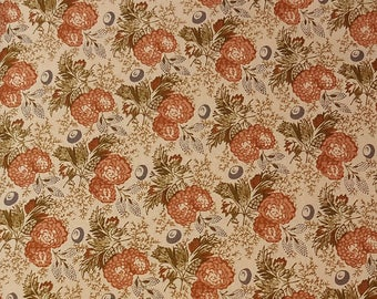 Andover Prints Jo Morton Toast II Rust and Green - P0260-4243-LO