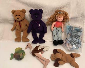 TY Beanie Baby Toy Lot