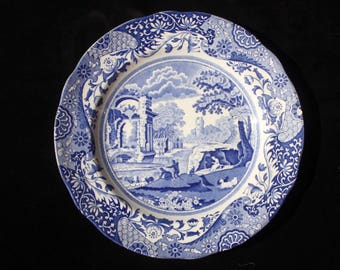 Spode   Blue Italian   Dessert or Salad Plate   7.5 inches