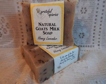 Honey Lavender Goats Milk Soap