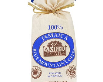 Jamaica Blue Mountain Coffee  8 0Z (227g) GROUND SPECIAL OFFER 100%  Blue Mountain Coffee Bean World Best