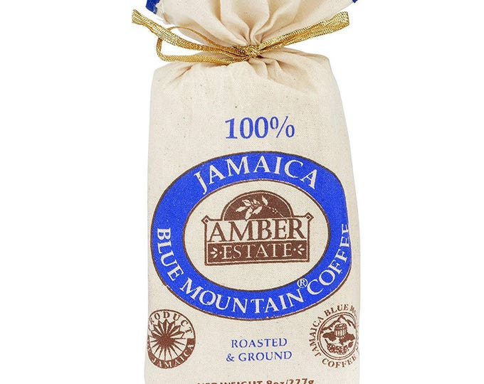 Jamaica Blue Mountain Coffee  8 0Z (227g) GROUND SPECIAL OFFER 100%  Blue Mountain Coffee Bean World Best