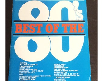 Best of the 80s Clarinet Sheet Music Book