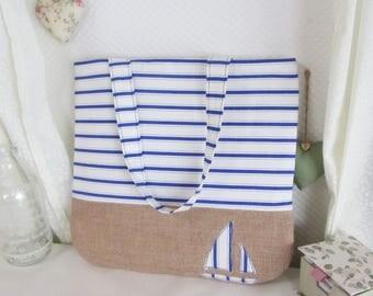Beach themed bag | Etsy
