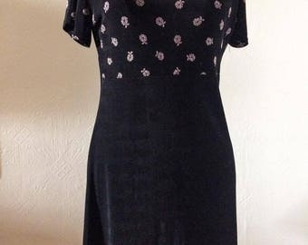 Vintage 90's Country Romance Dress, See Through