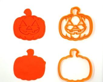 Pumkin Cookie Cutter - 3D Printed - JJack O Lantern Cookie Cutter- Bakery Cookie Cutter - Clay Cutter - Fondant Cutter - FunOrders