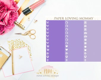 April Label Stickers | Planner Stickers designed for use with the Erin Condren Life Planner