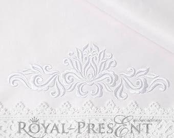 Machine Embroidery Design Ornamental Elegant Decor IIV - 3 sizes
