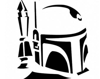 Star Wars Boba Fett Vinyl Decal Sticker