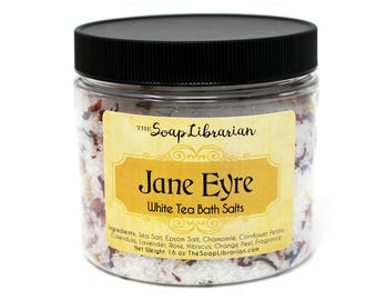 Jane Eyre Bath Salts - Classic Book Lovers Gift