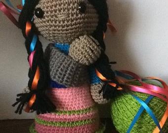 Maria amigurumi doll