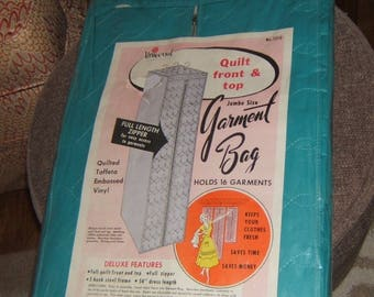 Universal Jumbo Size Quilted Garment Bag 1961 Sealed
