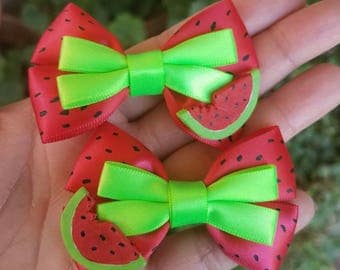 Watermelon Mini Bows