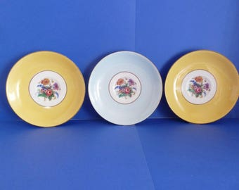 Saucers, By: Colclough China, Made in Longton England