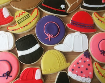 Creative Chapeau Hat Party Cookies_Hat Favors