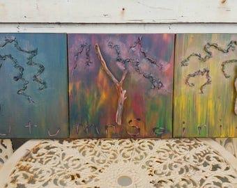 AUTUMN SPIRIT -  original Branch Art EarthArt