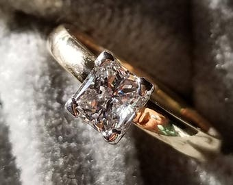 1ct Princess Cut Diamond Ring