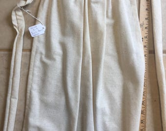 Girls Size 6-8 Lin'n Spun Apron 18th Century Prairie Costume Civil War Re-enactment