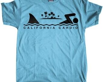 Men's California Cardio Shark Week Regular Fit T-Shirt