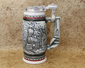 Age of the Iron Horse Beer Stein by Avon