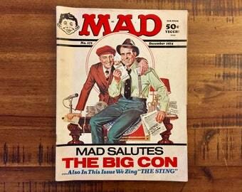 1974 Mad Magazine #171 / FN-VG / The Big Con / The Sting