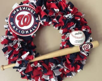 Washington Nationals wreath
